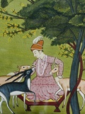 Indian Miniature  Animal Kindness Ahimsa