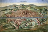 16th Century Plan of Florence