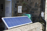 Solar Panel At the ECO Centre  Wales