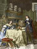 Rene Descartes And Queen Christina