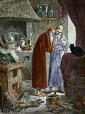 Jan Baptiste Van Helmont And An Alchemist