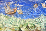 Detail of 16th Century Map of Liguria