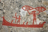 Prehistoric Rock Petroglyph