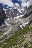Glacier Noir And the Barre Des Ecrins