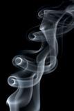 Smoke Plume with Eddies