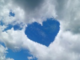 Heart-shaped Cloud Formation