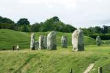 Avebury Henge  Wiltshire  UK