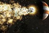 Comet Shoemaker-Levy 9  Artwork