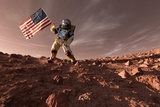 US Exploration of Mars  Artwork