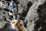 Asteroid Deflection  Astronauts