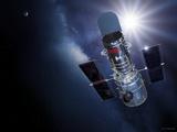 Hubble Space Telescope  Artwork