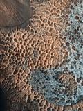 Martian Central-peak Crater Floor