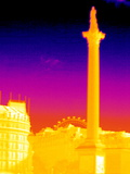 Nelson's Column  Thermogram