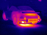 Porsche Car  Thermogram