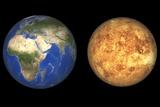 Venus And Earth  Artwork
