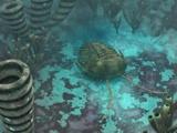 Trilobite on a Seabed  Artwork