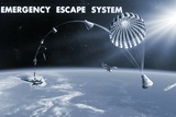 Spacecraft Escape System  Artwork