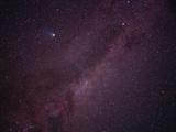 Milky Way Showing Comet Halley