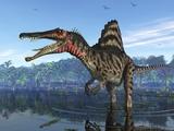 Spinosaurus Dinosaur  Artwork