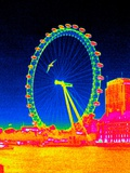 London Eye  Thermogram