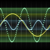 Sound Wave  Computer Artwork