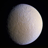 Saturn's Moon Rhea  Cassini Image