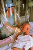 Chernobyl Cancer Patient In Sterile Hospital Room