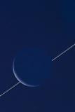 Lunar Occultation of Venus  Time-lapse