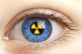 Eye with Radiation Warning Sign