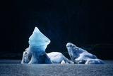 Icebergs In Lowell Lake  Canada