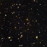 Hubble Ultra Deep Field Galaxies Papier Photo par NASA