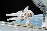 ISS Construction Space Walk