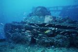 Tank From a World War II Shipwreck