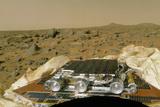 Sojourner Before Leaving the Mars Pathfinder