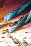 Adenosine Crystals  Light Micrograph