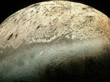 Voyager 2 Photomosaic of Neptune's Moon Triton