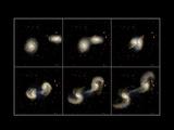 Galaxy Collision Model