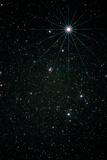 Optical Image of the Constellation of Lyra