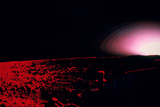 Viking 1 Lander Photo of Martian Sunset