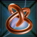 Art of Mathematical Knotted Torus
