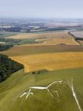 Uffington White Horse  Oxfordshire  UK