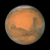 Mars Close Approach 2007  HST Image