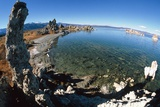 Fisheye View of Tufa Formations At Mono Lake  USA