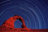 Stars Trails & Delicate Arch