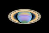 Saturn  Ultraviolet HST Image