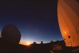 Keck I And II Observatories on Mauna Kea  Hawaii