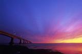 Confederation Bridge At Sunset