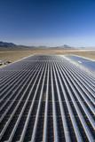 Solar Power Plant  Nevada  USA