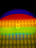 Silicon Chip Wafer