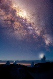 Kitt Peak Observatory And Milky Way